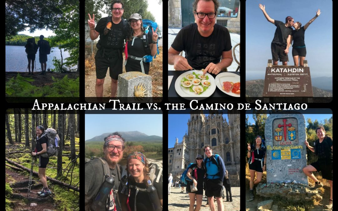 Appalachian Trail vs. the Camino de Santiago