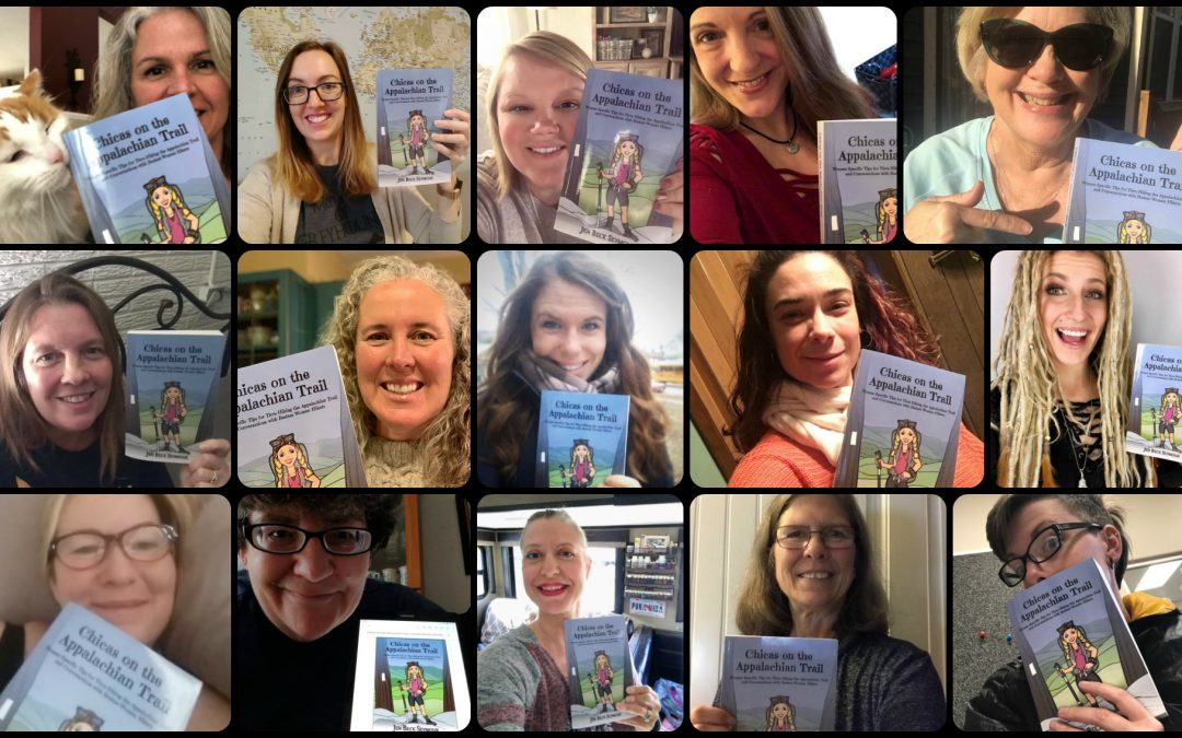 Chicas on the Appalachian Trail – THE BOOK!